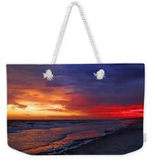 Ten Minutes On The Beach  Weekender Tote Bag