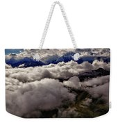 Ten Thousand Feet Over Denali Weekender Tote Bag