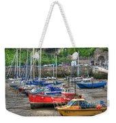 Tenby Harbour In Summer 3 Weekender Tote Bag