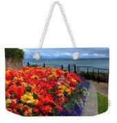 Tenby In Bloom Weekender Tote Bag