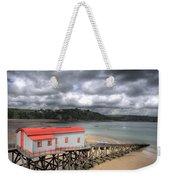 Tenby Lifeboat House Weekender Tote Bag