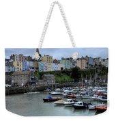 Tenby Town Across The Harbour Weekender Tote Bag