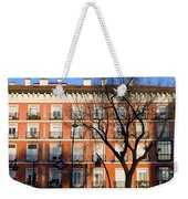 Tenement House Facade In Madrid Weekender Tote Bag