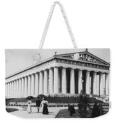 Tennessee Centennial In Nashville - The Parthenon - C 1897 Weekender Tote Bag