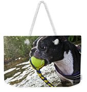Tennis Ball Mist Weekender Tote Bag
