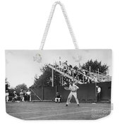 Tennis Player, C1920 Weekender Tote Bag
