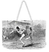 Tennis: Wimbledon, 1880 Weekender Tote Bag by Granger