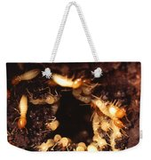 Termite Nest Weekender Tote Bag by Science Source