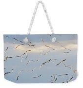 Terns Flying Away Weekender Tote Bag
