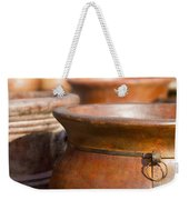Terracotta Mexican Pottery Weekender Tote Bag