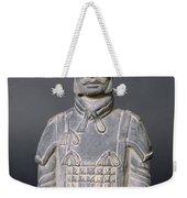 Terracotta Warrior Soldier Weekender Tote Bag