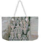 Terracotta Warriors In Xian In China Weekender Tote Bag