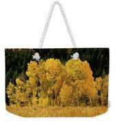 Teton Autumn Foliage Weekender Tote Bag