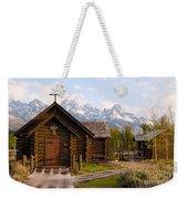 Teton Chapel Weekender Tote Bag