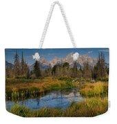 Teton Fall Weekender Tote Bag