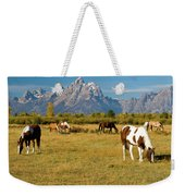 Teton Horses Weekender Tote Bag