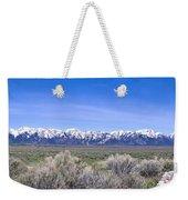 Teton National Park Panarama Weekender Tote Bag