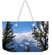 Teton Through The Trees Weekender Tote Bag