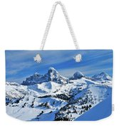 Teton Winter Weekender Tote Bag