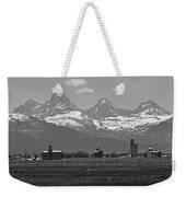 Tetonia Grain Elevators Weekender Tote Bag