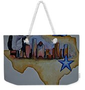 Texas Bound 3 Weekender Tote Bag