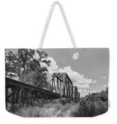 Texas Railroad Bridge Weekender Tote Bag