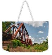 Texas Train Trestle 13984c Weekender Tote Bag