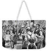 Textile Mill, 1881 Weekender Tote Bag by Granger