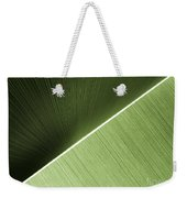Patterns And Colors. Green. Weekender Tote Bag