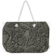 Tezcatlipoca And Huitzilopochtli Weekender Tote Bag