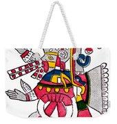 Tezcatlipoca, Aztec God Of Night, Codex Weekender Tote Bag by Photo Researchers