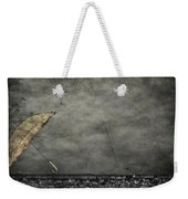 Th E Red Umbrella Weekender Tote Bag by Empty Wall