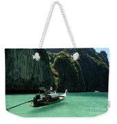 Thai Long Tail Boat  Weekender Tote Bag