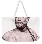 Thales, Ancient Greek Philosopher Weekender Tote Bag by Photo Researchers