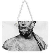 Thales, Ancient Greek Philosopher Weekender Tote Bag by Science Source