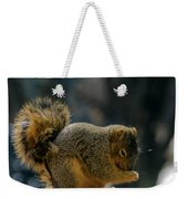 Thank You For The Nuts Weekender Tote Bag