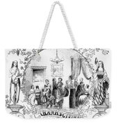 Thanksgiving, 1852 Weekender Tote Bag