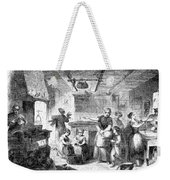 Thanksgiving, 1855 Weekender Tote Bag