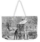 Thanksgiving, 1882 Weekender Tote Bag