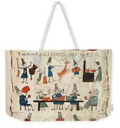 Thanksgiving, 1924 Weekender Tote Bag