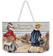 Thanksgiving, C1900 Weekender Tote Bag