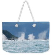 Thar They Blow Weekender Tote Bag