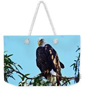 That Eagle Stare Weekender Tote Bag