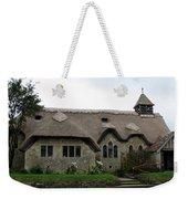 Thatched Church Weekender Tote Bag