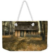 Thatched Roof Cottage In The Woods Weekender Tote Bag