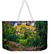 Thatched Roof Country Home Weekender Tote Bag