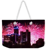 The 54th Annual Target Fireworks In Detroit Michigan Weekender Tote Bag