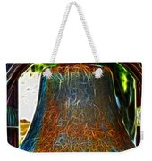 The Academy Bell Fractal Weekender Tote Bag