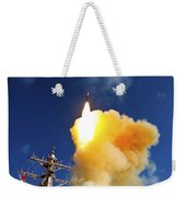 The Aegis-class Destroyer Uss Hopper Weekender Tote Bag