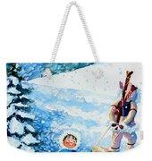 The Aerial Skier - 1 Weekender Tote Bag